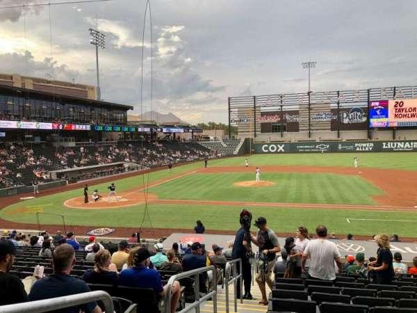 Las Vegas Ballpark, section: 107, row: V, seat: 1