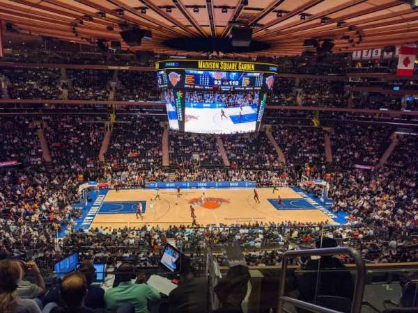 Madison Square Garden, section: 223, row: 6, seat: 22