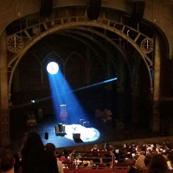 Lyric Theatre, section: Dress Circle L, row: H, seat: 1