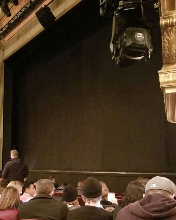 Neil Simon Theatre, section: Orch, row: H, seat: 22