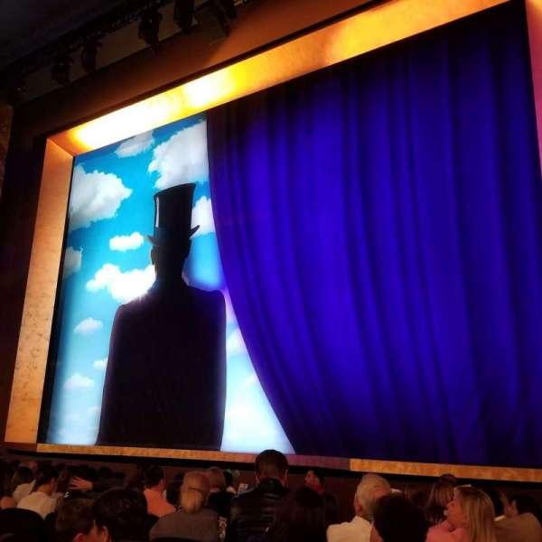 Lunt-Fontanne Theatre, section: Orch, row: L, seat: 14