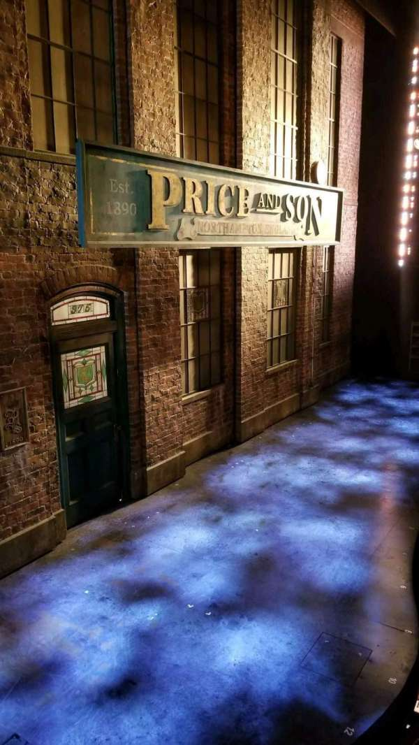 Al Hirschfeld Theatre, section: Box, row: AA, seat: 1