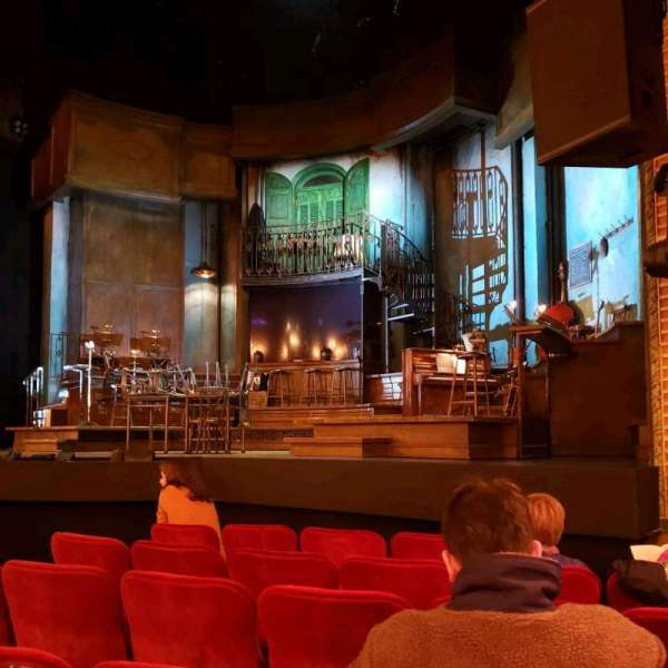 Walter Kerr Theatre, section: Orchestra R, row: G, seat: 8