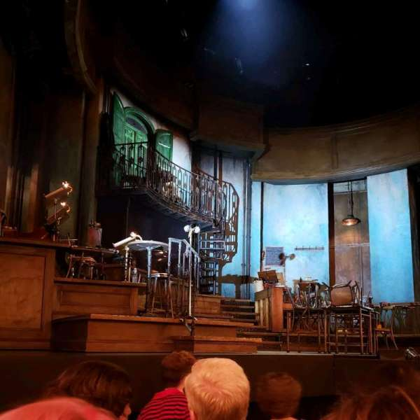 Walter Kerr Theatre, section: Orchestra L, row: E, seat: 7