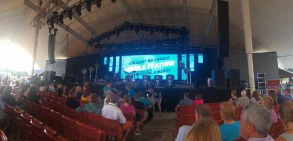 MECU Pavilion, section: 102, row: G, seat: 1