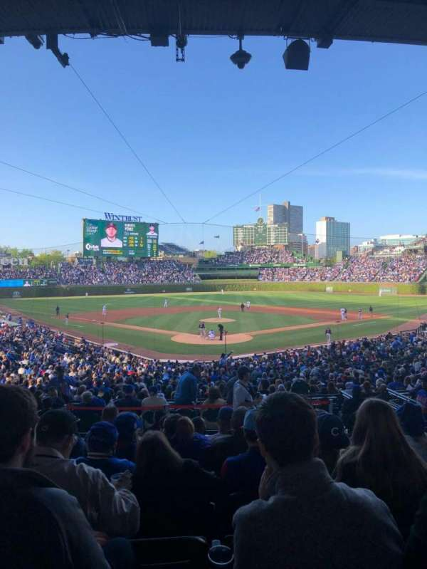 Wrigley Field, section: 222, row: 8, seat: 5
