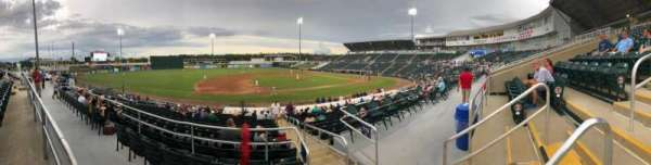 Hammond Stadium, section: 216, row: 1, seat: 3
