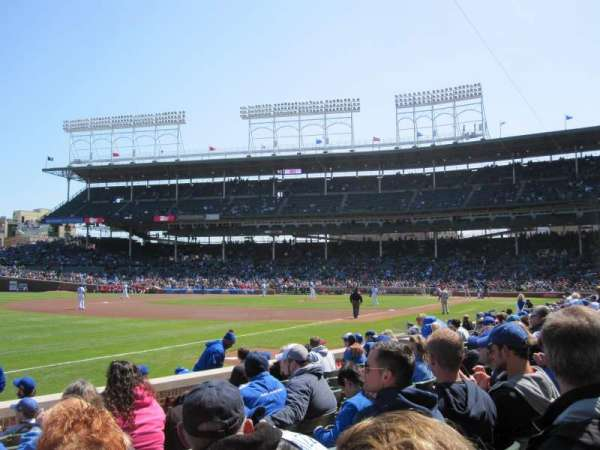 Wrigley Field, section: 6, row: 12, seat: 1