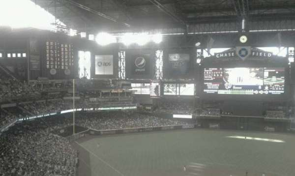 Chase Field, section: 316, row: 14, seat: 1