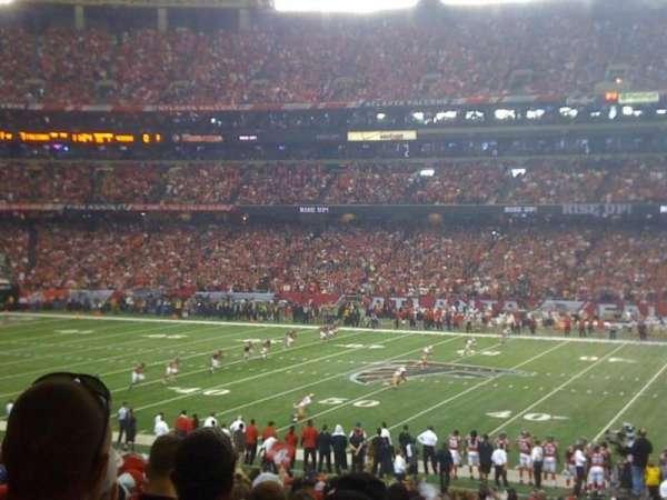 Georgia Dome, section: 114, row: 32, seat: 19