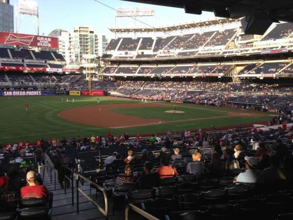 PETCO Park, section: 116, row: 40, seat: 1