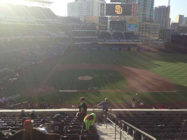 PETCO Park, section: 205, row: 13, seat: 1