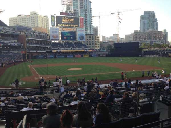 PETCO Park, section: K, row: 5, seat: 1