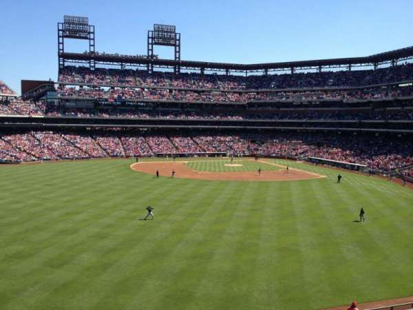 Citizens Bank Park, section: 245, row: 1, seat: 10