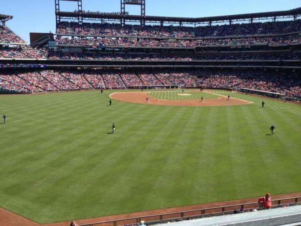 Citizens Bank Park, section: 245, row: 1, seat: 9
