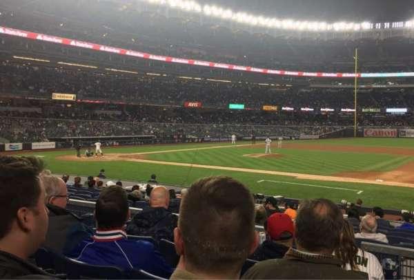 Yankee Stadium, section: 115, row: 4, seat: 2