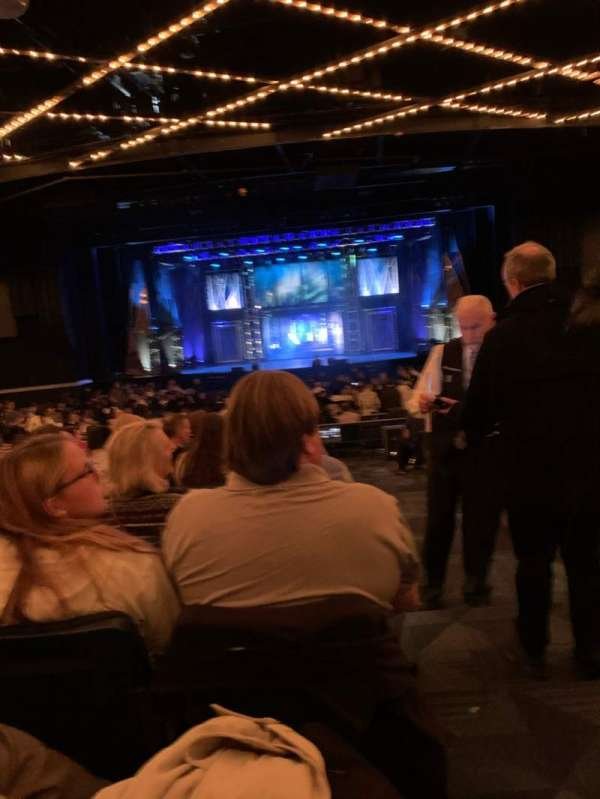 Hulu Theater at Madison Square Garden, section: 200, row: M, seat: 16