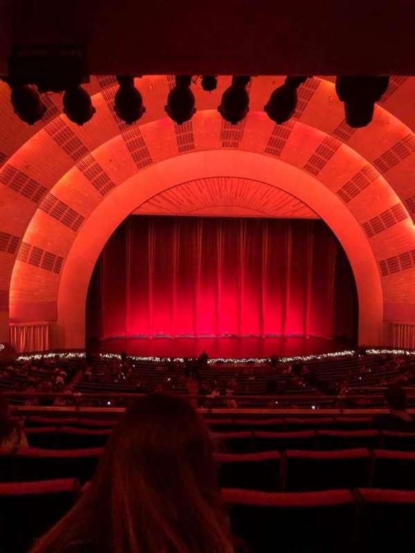 Radio City Music Hall, section: 1ST Mezzanine 5, row: F, seat: 505