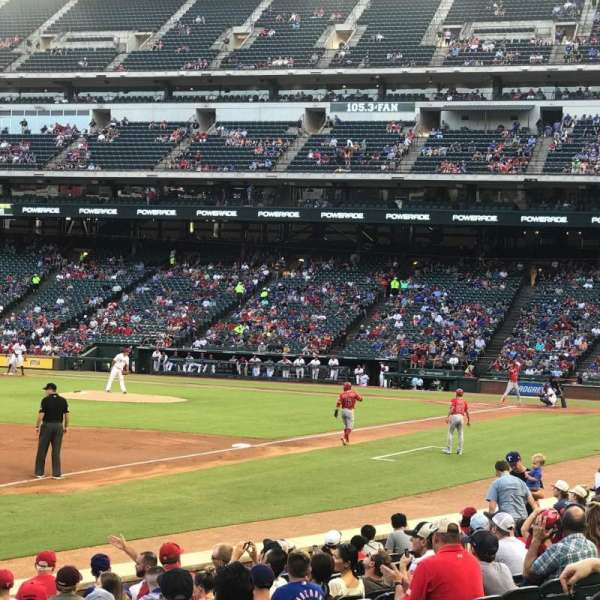 Globe Life Park in Arlington, section: 15, row: 10, seat: 6