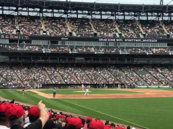 Guaranteed Rate Field, section: 110, row: 17, seat: 10