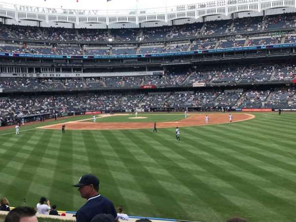 Yankee Stadium, section: 203, row: 6, seat: 5