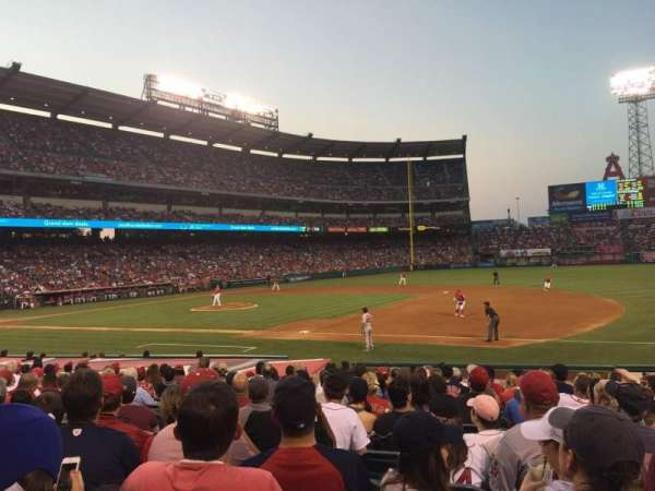 Angel Stadium, section: F127, row: R, seat: 7
