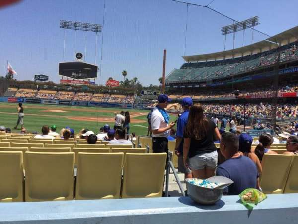 Dodger Stadium, section: 5fd, row: B, seat: 9