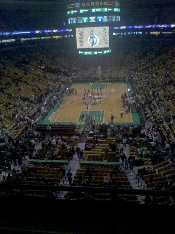 TD Garden, section: Bal 323, row: 2, seat: 12