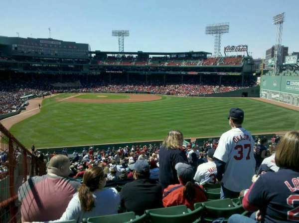 Fenway Park, section: Bleacher 43, row: 45, seat: 12