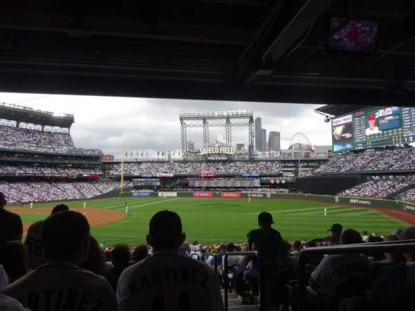 T-Mobile Park, section: 117, row: 40, seat: 1