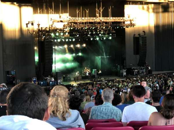 White River Amphitheatre, section: 210, row: 21, seat: 3