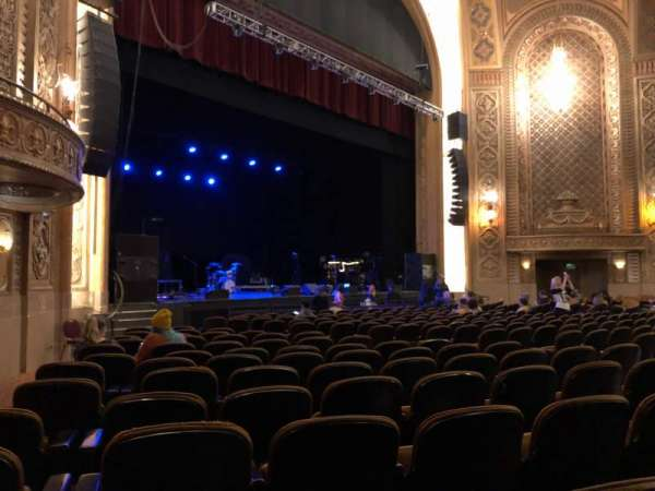 Paramount Theatre (Seattle), section: Main Floor 4A, row: S, seat: 1