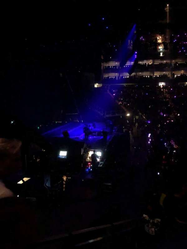 The O2 Arena, section: 118, row: P, seat: 14