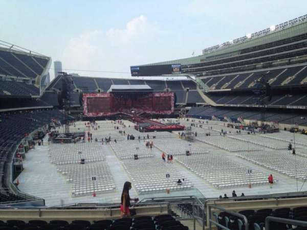 Soldier Field, section: 225, row: 9, seat: 14