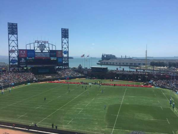 AT&T Park, section: VB323, row: B, seat: 9