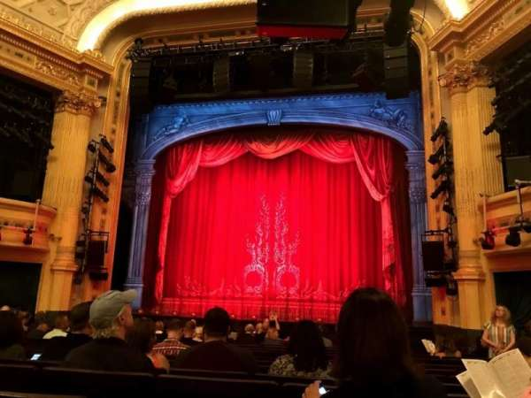 Hudson Theatre, section: Orchestra C, row: P, seat: 115