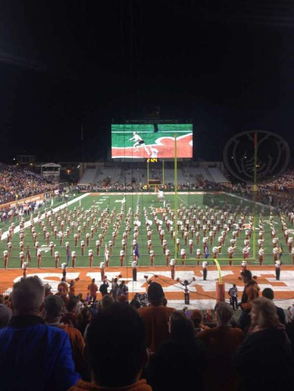 Texas Memorial Stadium, section: 16, row: 28, seat: 33