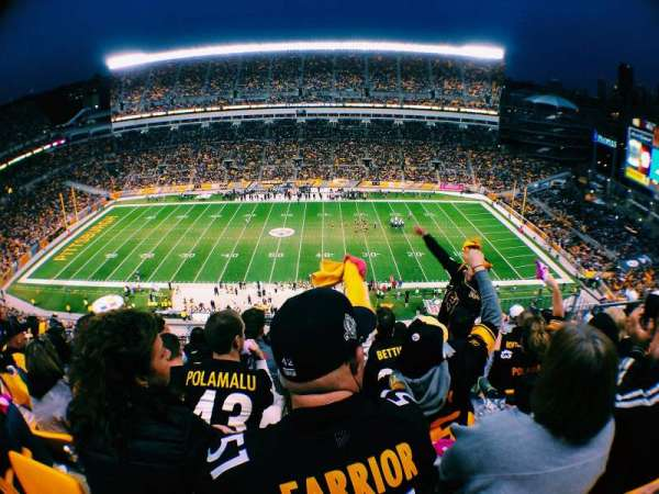 Heinz Field, section: 535, row: L, seat: 8