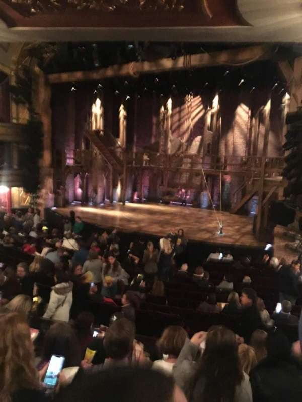 Richard Rodgers Theatre, section: Orchestra R, row: Q, seat: 22