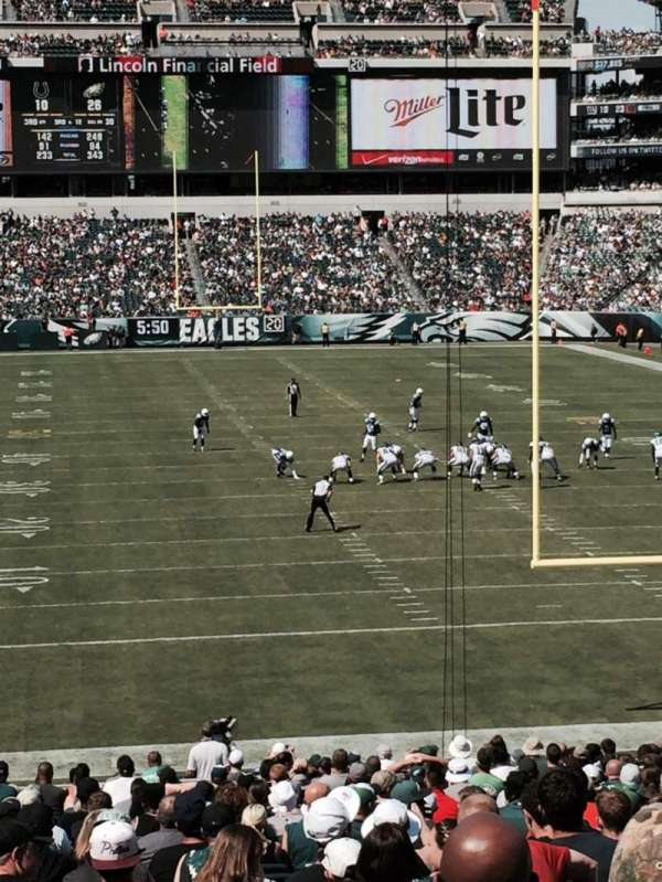 Lincoln Financial Field, section: 110, row: 32, seat: 21