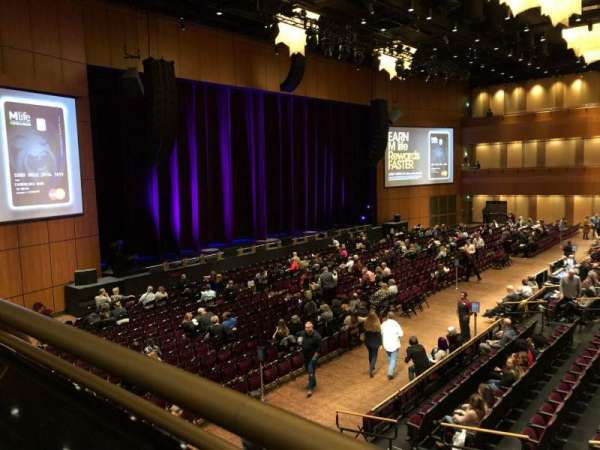 The Theater at MGM National Harbor, section: 202, row: A, seat: 9