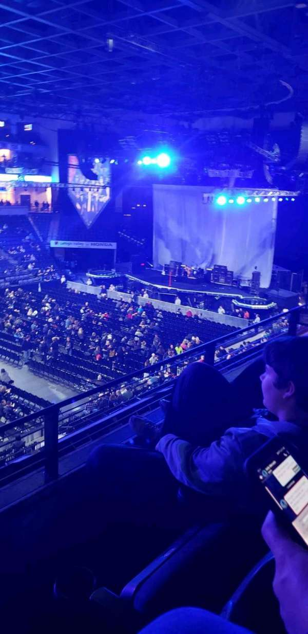 PPL Center, section: 205, row: 2, seat: 8