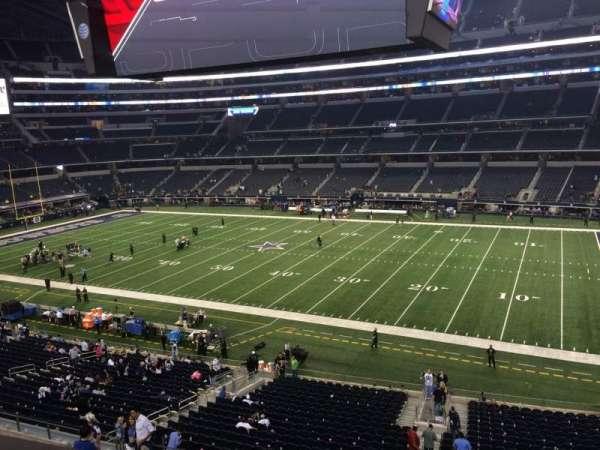 AT&T Stadium, section: C307, row: 1, seat: 10