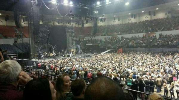 Pechanga Arena, section: L24, row: 5, seat: 7 and 8