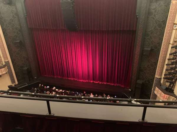 New York City Center, section: Balcony, row: B, seat: 143
