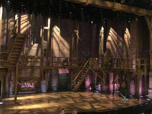Richard Rodgers Theatre, section: Orchestra L, row: P, seat: 21