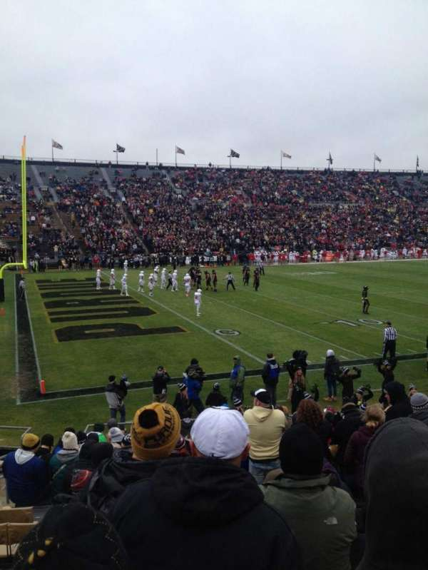Ross-Ade Stadium, section: 120