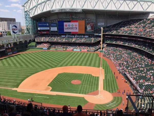 Minute Maid Park, section: 415, row: 6, seat: 18