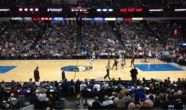 American Airlines Center, section: 118, row: N, seat: 18