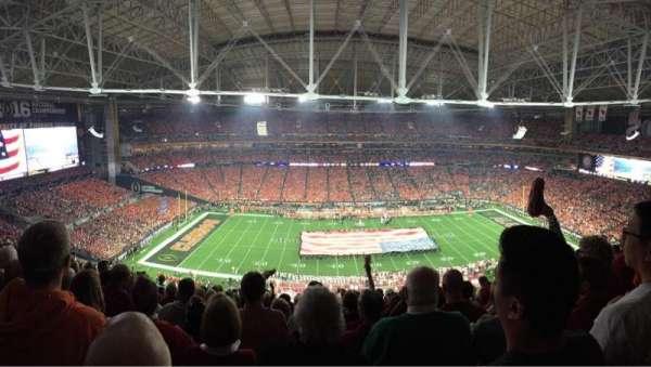 State Farm Stadium, section: 445, row: 12, seat: 6